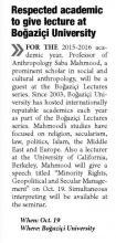 Daily Sabah - 15 Ekim 2015